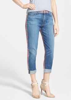 Hudson Jeans 'Patti' Print Back Skinny Jeans (Deceptive Dynamics)