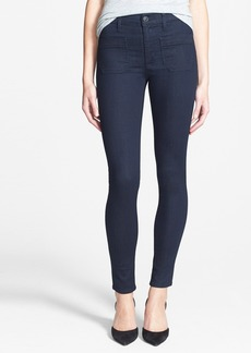 Hudson Jeans 'Quinn' High Rise Super Skinny Jeans (Storm)