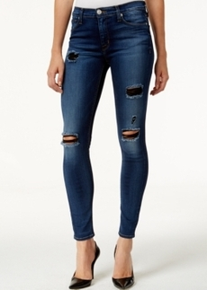 Hudson Jeans Nico Ripped Super Skinny Jeans, Apocalypse Wash