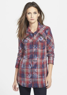 Hudson Jeans 'Ryan' Frayed Flannel Shirt