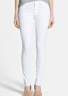 Hudson Jeans 'Shine' Mid Rise Skinny Jeans (White)