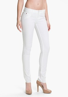 Hudson Jeans Skinny Stretch Jeans (New White Wash)