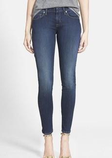 Hudson Jeans 'Spirit Punk' Zip Detail Skinny Jeans (Globetrotter)