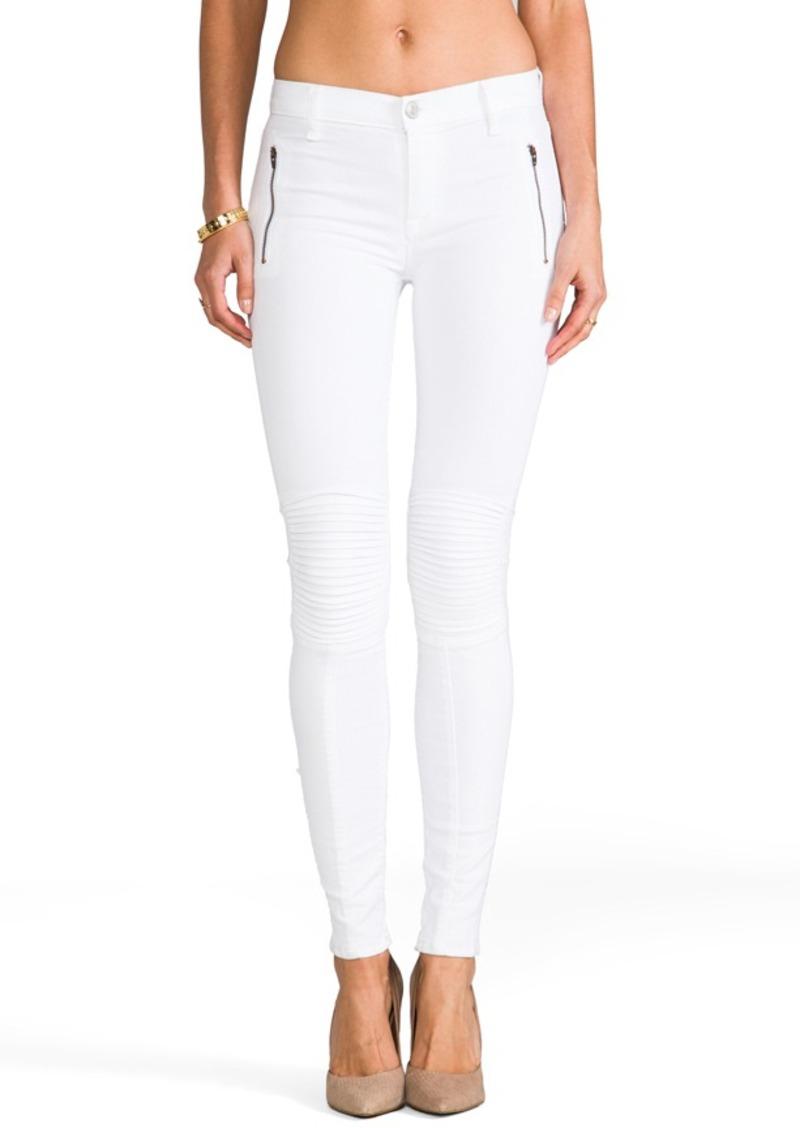 Hudson Jeans Stark Moto Pant in White