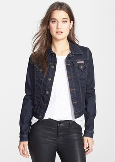Hudson Jeans Stretch Denim Jacket (Rinse)