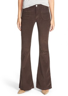 Hudson Jeans 'Taylor' Flare Jeans (Foxglove Brown)