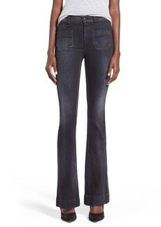 Hudson Jeans 'Taylor' High Rise Flare Jeans (Blackbird)