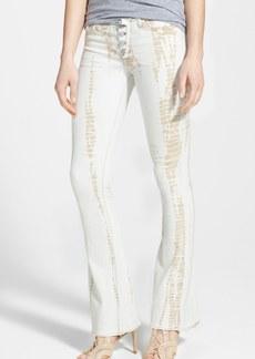 Hudson Jeans Tie Dye Flared Jeans (Gypsy Sun)