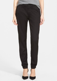 Hudson Jeans 'Vanish' Plaid Chino Pants (Black)