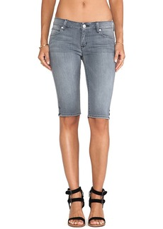 Hudson Jeans Viceroy Knee Short in Gray