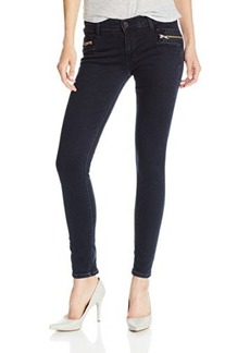 Hudson Jeans Women's Chimera Zipper Ankle Skinny Jean In Blue Wild