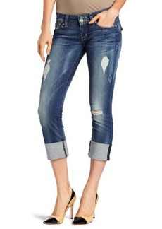 Hudson Jeans Women's Ginny Cuffed Crop Jean in Blondie