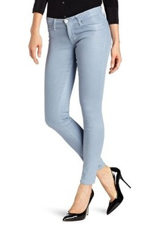 Hudson Jeans Women's Krista Coated Skinny Jean in Can't You See