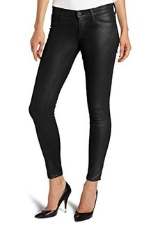 Hudson Jeans Women's Krista Super-Skinny Jean in Black Wax