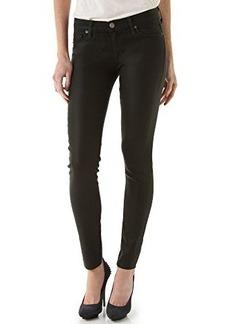 Hudson Jeans Women's Krista Super-Skinny Jean in Black Wax