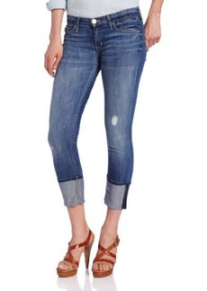 Hudson Jeans Women's Muse Cuffed Crop Jean in Indie