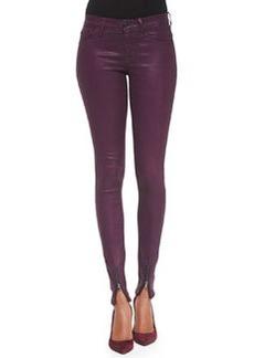 Hudson Juliette Zip-Ankle Skinny Jeans