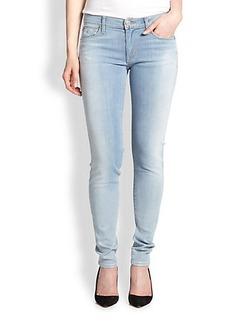 Hudson Krista Coated Super Skinny Jeans