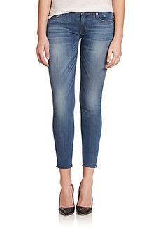 Hudson Krista Cropped Super Skinny Jeans