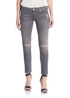 Hudson Krista Destroyed Super Skinny Jeans