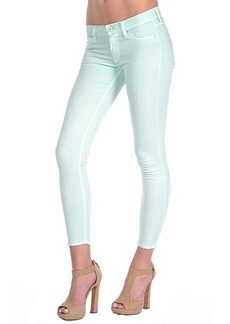 Hudson Krista Super Skinny Crop in Moroccan Green