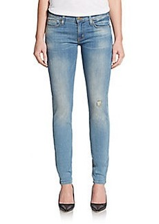 Hudson Krista Super Skinny Distressed Jeans