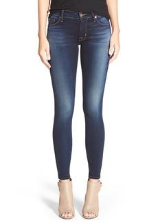 Hudson 'Krista' Super Skinny Jeans (Blue Gold)