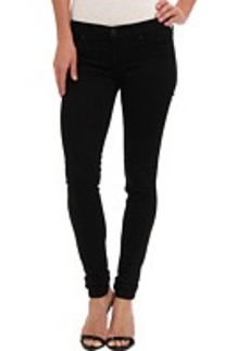 Hudson Krista Super Skinny Sateen in Black Knight