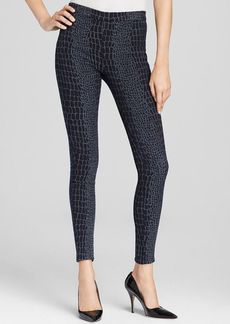 Hudson Leggings - Evelyn High Waist Super Skinny in Snake Charmer
