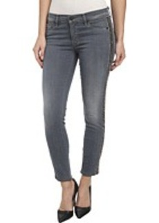 Hudson Luna Skinny Crop w/ Side Bead Detail in Unfiltered