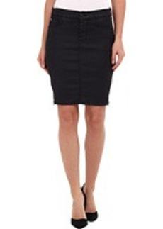 Hudson Marianne Zipper Skirt in Royal Elektra