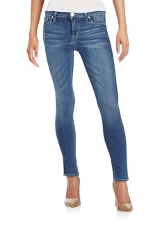 Hudson Mid-Rise Ankle Skinny Jeans