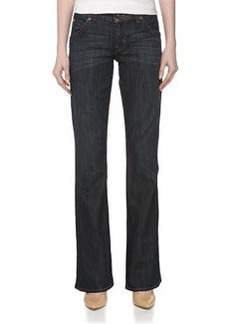 Hudson Midrise Signature Boot-Cut Jeans, Dresden
