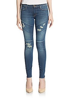 Hudson Moto Super-Skinny Jeans
