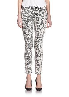Hudson Nico Animal Print Skinny Jeans