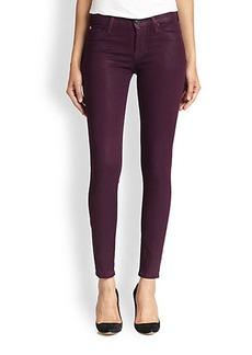 Hudson Nico Coated Skinny Jeans
