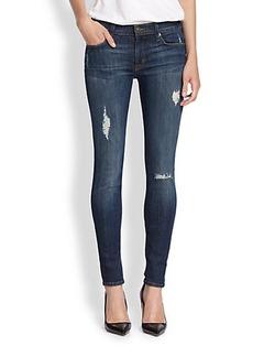 Hudson Nico Distressed Skinny Jeans