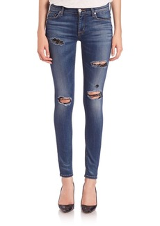 Hudson Nico Elysian Distressed Skinny Jeans