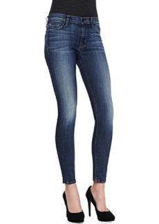 Hudson Nico Faded Denim Skinny Jeans, Glam