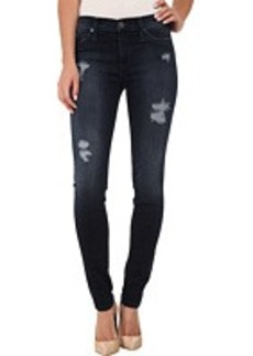 Hudson Nico Mid Rise Skinny Jeans in Cold Cerulean