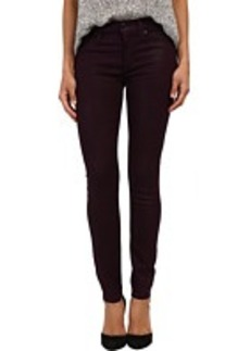 Hudson Nico Mid-Rise Super Skinny in Mulberry Wax