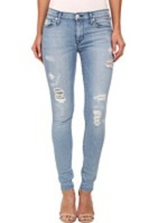Hudson Nico Mid Rise Super Skinny Jeans in Buzzworthy