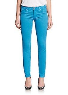 Hudson Nico Mid-Rise Super-Skinny Jeans/Blue