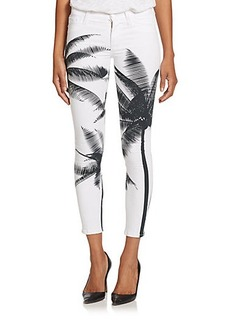 Hudson Nico Palm Tree Skinny Jeans