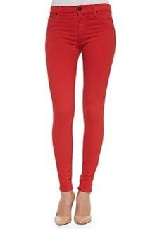 Hudson Nico Stretch Skinny Jeans, Infrared
