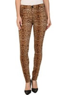 Hudson Nico Super Skinny Mid Rise Jeans in Lynx