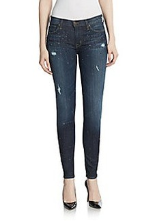 Hudson Nico Super Skinny Studded Jeans
