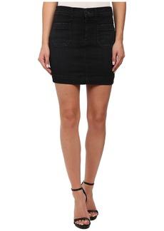 Hudson Rose High Waist Skirt