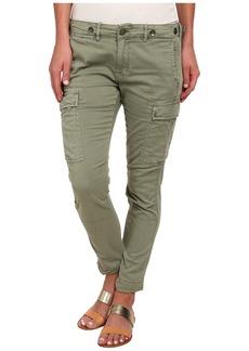 Hudson Rowan Slouchy Skinny Cargo Pants in Juniper