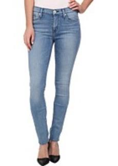Hudson Shine Mid Rise Skinny Jeans in Pico